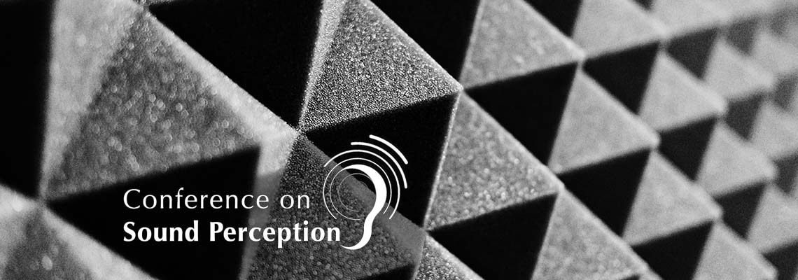 Conference on Sound Perception